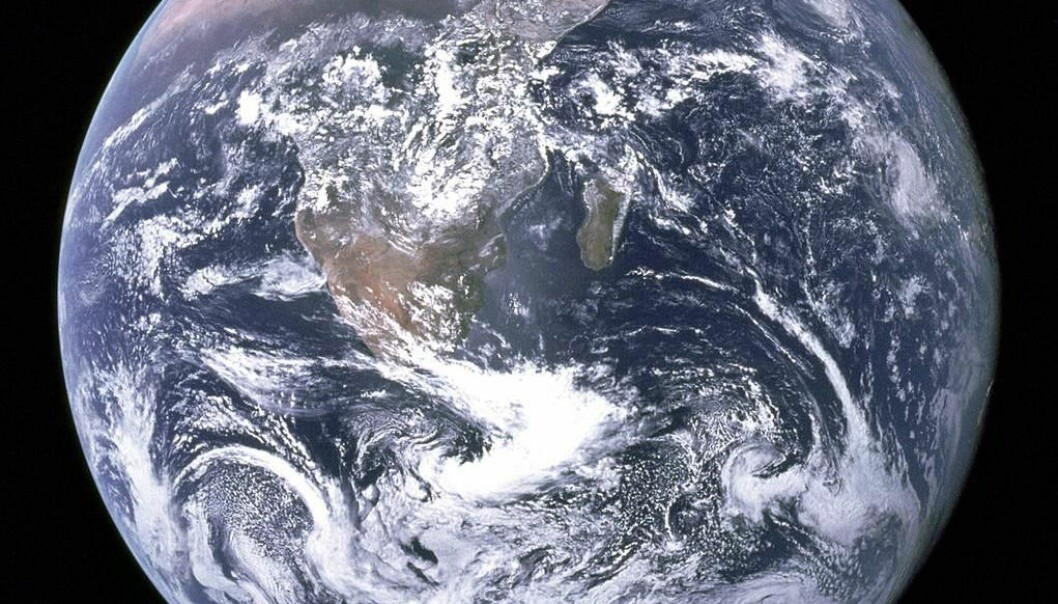 The Earth began getting its current appearance 3.2 billion years ago with the start of modern plate tectonics. Plate tectonics has influenced everything from how continents are shaped, formed and located to the development of the climate and to the way life has developed on Earth. (Photo: Apollo 17)