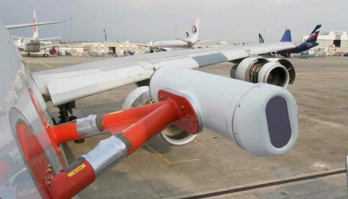 Volcanic ash detection technology tested on aircraft
