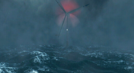Lasers catching the wind in rough seas