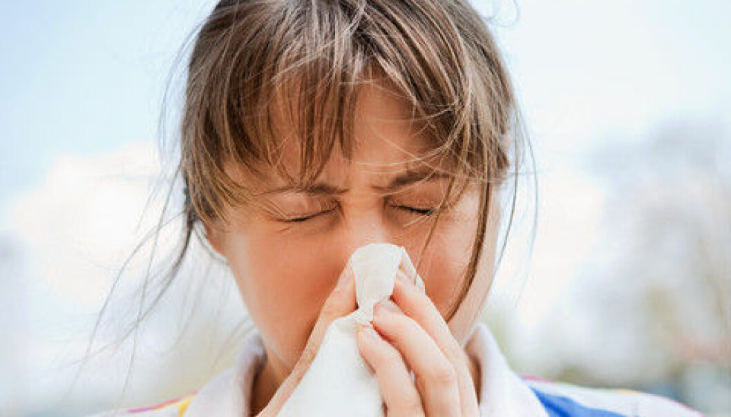 Newly discovered antibodies can neutralise all types of flu. Scientists may now be on the trail of a universal influenza vaccine. (Photo: Colourbox)