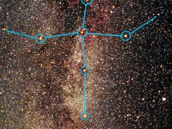 An illustration of the constellation Cygnus. The blue shape represents the asterism known as 'the Northern Cross'. (Photo: urantiansojourn.com)