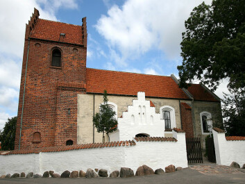 St. Jørgensbjerg Church in Roskilde was built in 1080 – by English builders? (Photo: Ib Rasmussen)
