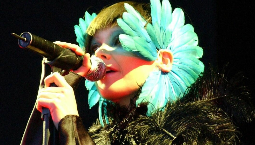 The Icelandic singer Björk is a central figure in the branding of Iceland as an eccentric nation. Her special music and strange clothes reflect the image that Icelanders currently have of themselves. (Photo: Zach Klein)