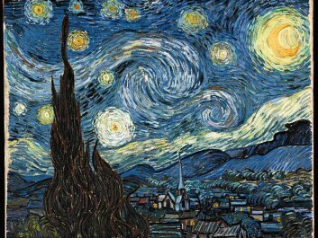 Vincent van Gogh painted Starry Night in 1889. It depicts the view from a window of the sanatorium at Saint-Remy where he committed himself. (Photo: Wikimedia Commons)