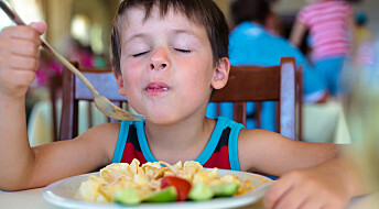 Kids prefer boring food