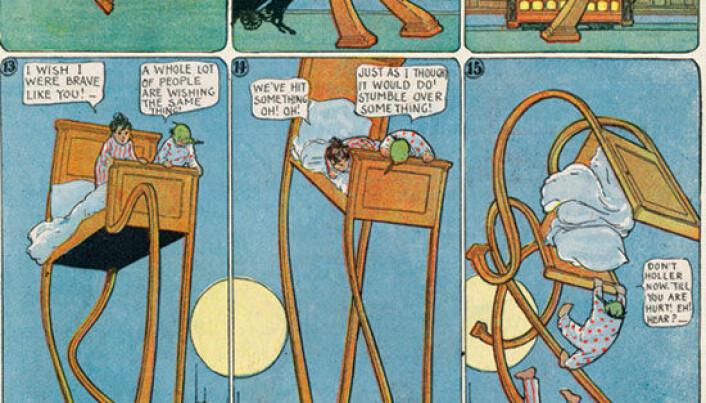 Nordic researchers flock around comics