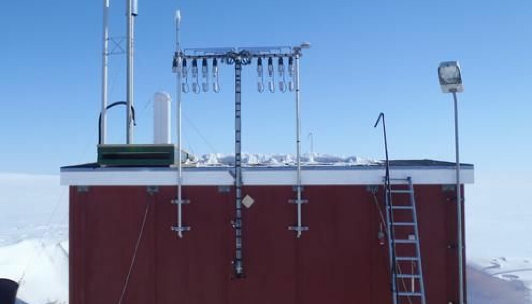 The new research station will be a huge upgrade from the modest air measurement shed that researchers have been using up to now. (Photo: Arctic Research Centre)