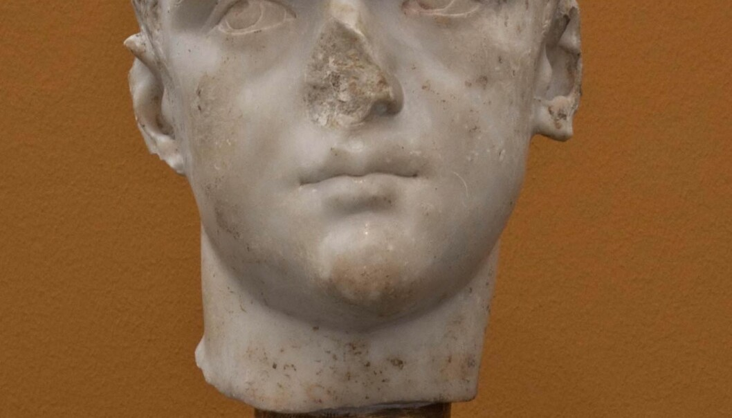 The 'Portrait of a young Roman' is not just missing a nose. The colours are gone too. Researchers at a Danish museum are currently working on a copy of the sculpture in an effort to determine its original colours. (Photo: Ny Carlsberg Glyptotek)