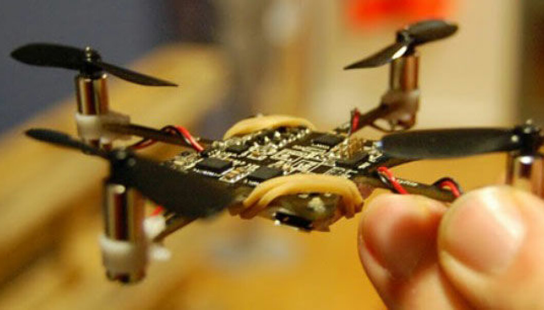 The Crazyflie Nano Quadcopter (Photo: bitcraze.se)