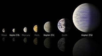 NASA spots smallest planet ever