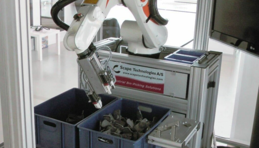 With the new technology, robots no longer depend on instructions from humans. (Photo: CARO)