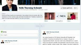 Danish youths shun political debate on Facebook