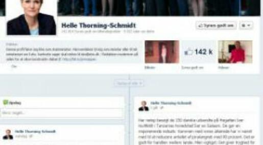 Danish youths shun political debate on Facebook
