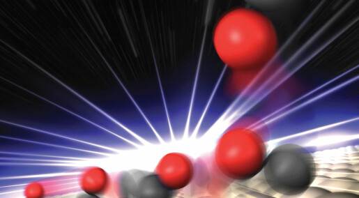 Huge X-ray laser reveals new molecular state