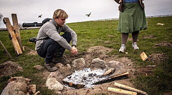 Archeologists burn pigs to investigate historical mystery