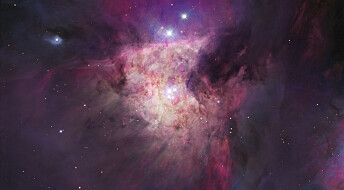 New photos of beautiful nebula