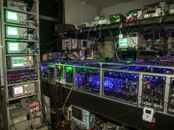 The discovery makes it possible in the long term to construct an optical quantum computer that can perform certain kinds of calculation much faster than existing computers. (Photo: Jonas Schou Neergaard-Nielsen)