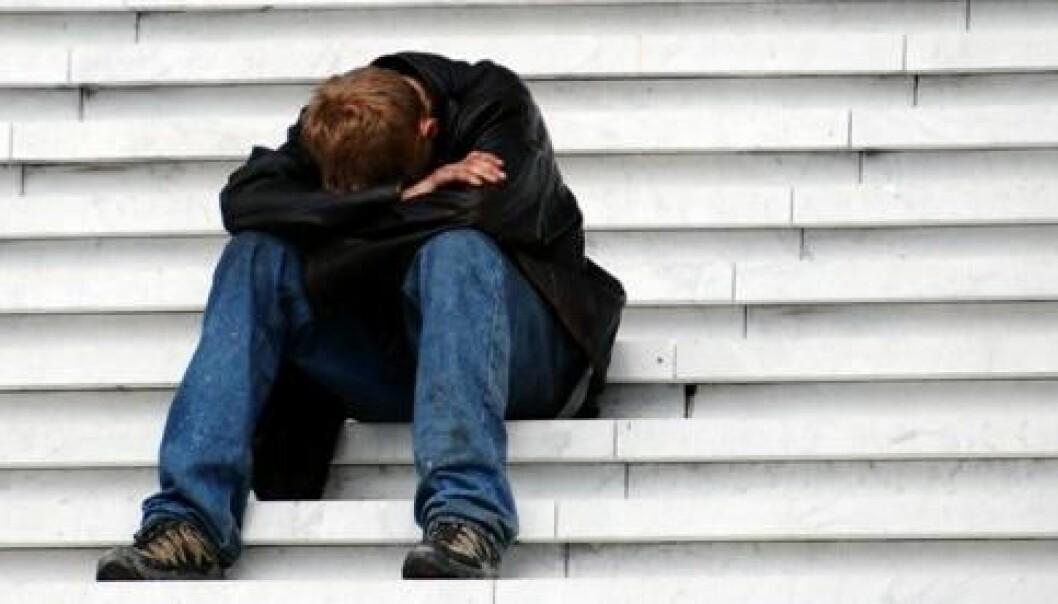 Depression is debilitating. (Photo: Colourbox)