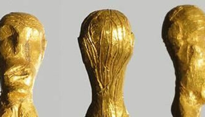 Unique gold figurine of naked woman found in Denmark