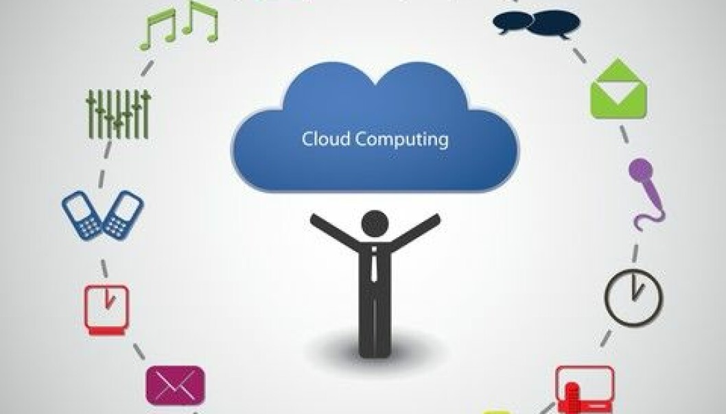 There are a few entirely European-owned servers for cloud computing, but most cloud services are owned by American companies. These services do not necessarily provide Europeans with the same privacy and data protection that their own citizens get. (Photo: Colourbox)