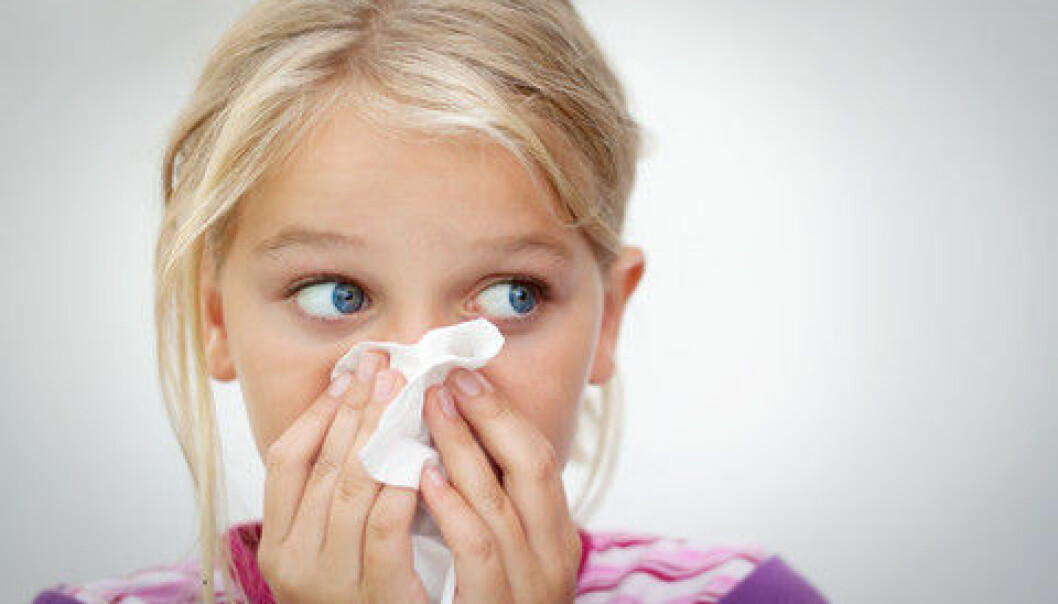 Scientists have now made a great step towards understanding the genetic causes of allergies. (Photo: Colourbox)