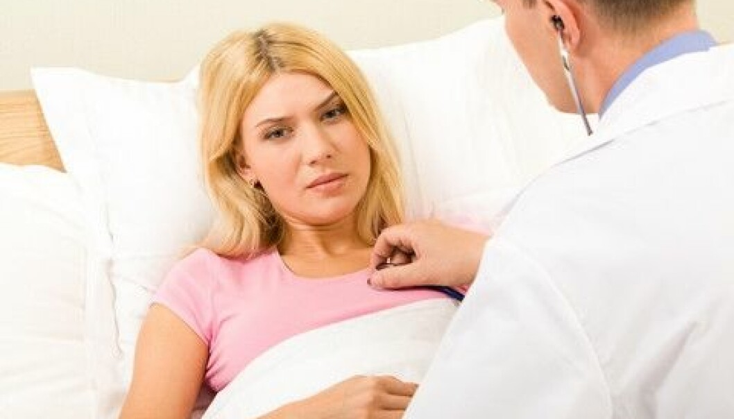 Menstruation immediately before or after heart surgery is a frequent concern for patients. However, a new study suggests that this does not affect the patient's haemoglobin count. (Photo: Colourbox)