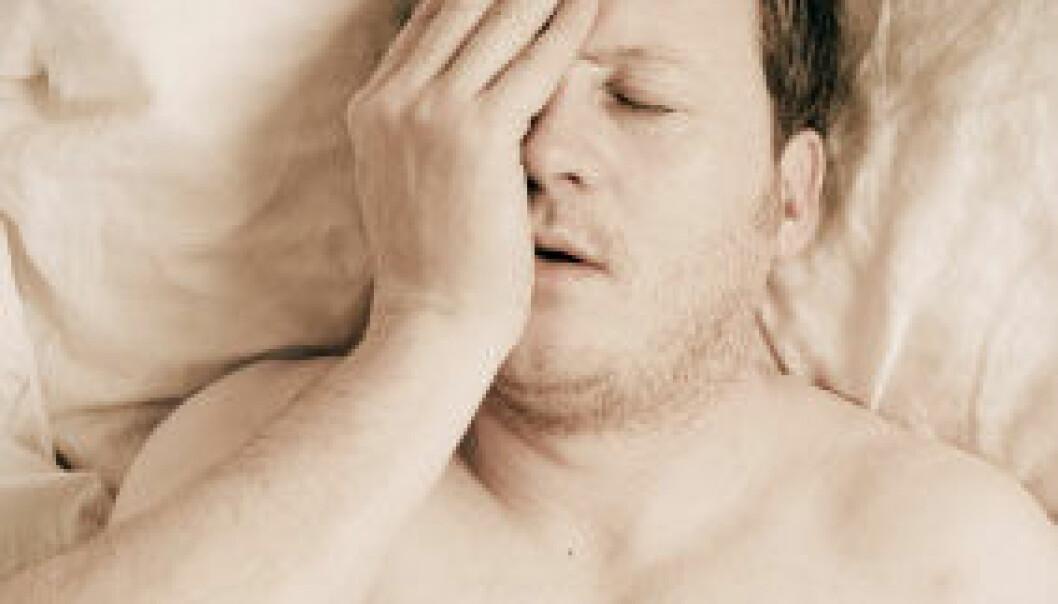 Around 30 percent of us have sleep problems periodically. (Photo: iStockphoto)
