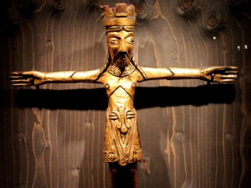 One of the earliest Nordic versions of the Jesus figure. (Photo: Asbjørn Mølgaard Sørensen)