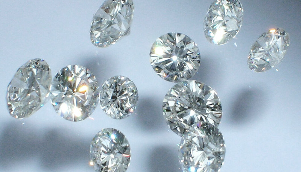 Diamonds conduct heat six times better than copper and can withstand high voltages. (Photo: Colourbox.com)