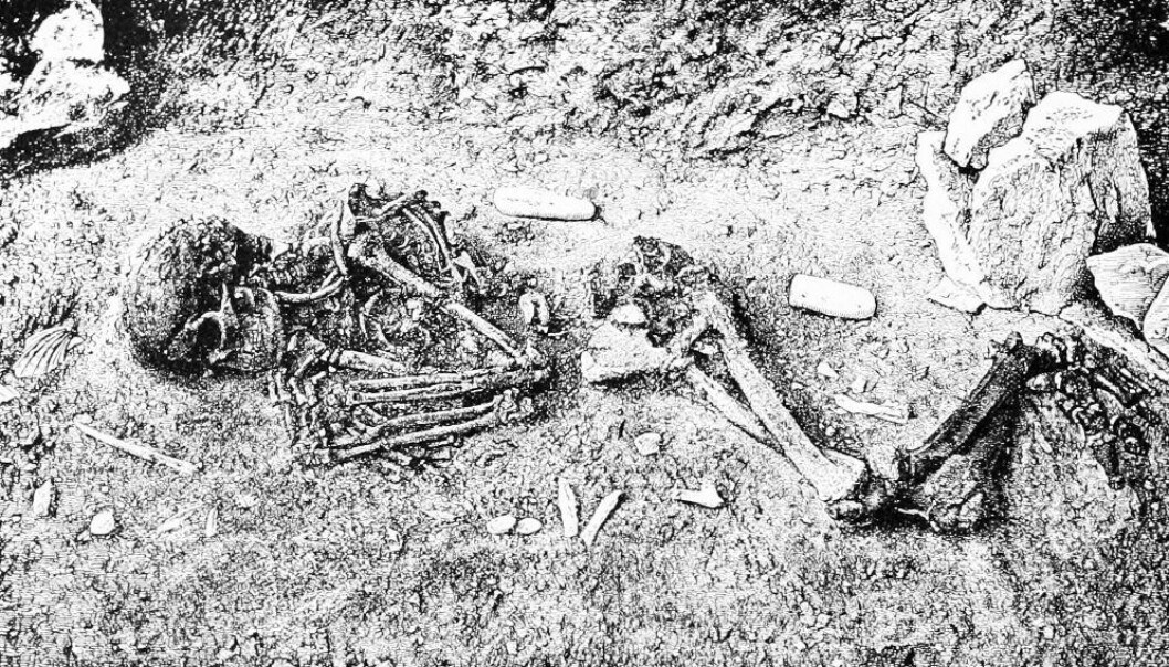 Archaeological discoveries of complete human skeletons or intact mummies are very rare. However, thanks to a breakthrough in DNA sequencing, scientists can new determine the gender of an individual from his or her remains, even if the remains are scanty. (Photo: Wikimedia Creative Commons)