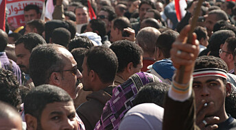Young Egyptians armed themselves for revolution