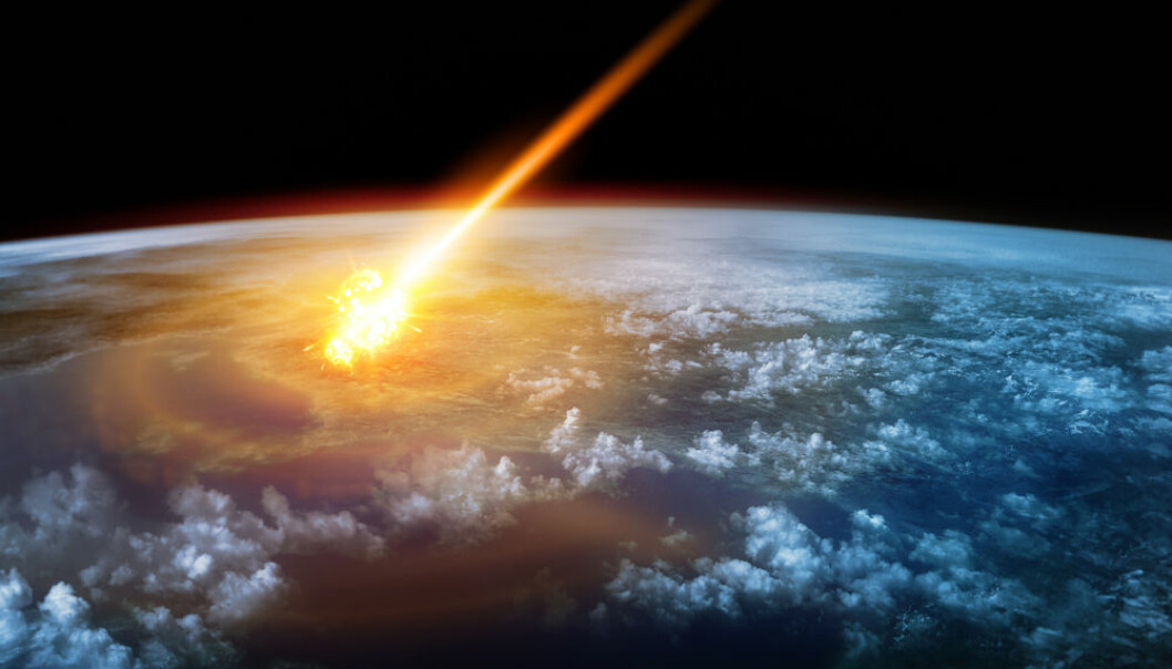 Between 4.3 and 4.1 billion years ago, the Earth was bombarded with meteors, which left traces of heavy metals in the Earth's crust. (Photo: Shutterstock)