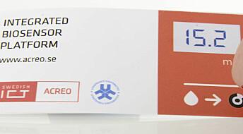 Paper strips that allow rapid diagnoses