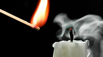 Our homes are filled with soot nanoparticles from candle flames