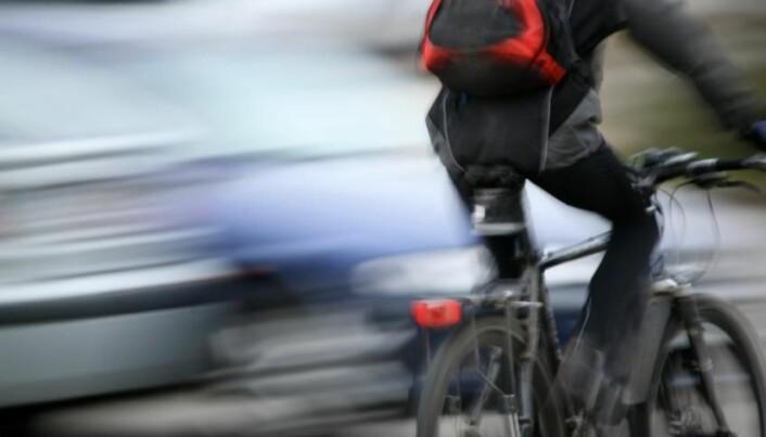 Pedestrians as risky as cars for cyclists