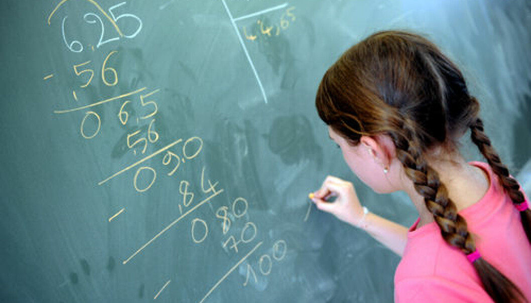 Mounting attention is being given to dyscalculia ― serious learning problems with mathematics. (Photo: Colourbox)