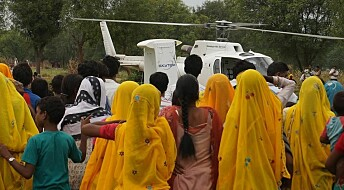 Helicopter technology to solve Indian water shortage