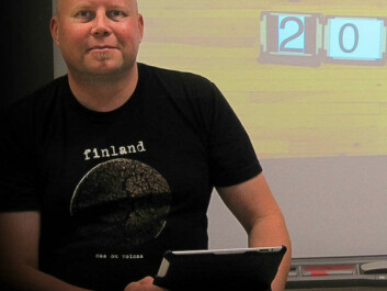 Kimmo Nyyssönen is the project coordinator. (Photo: Leena Hartikainen)