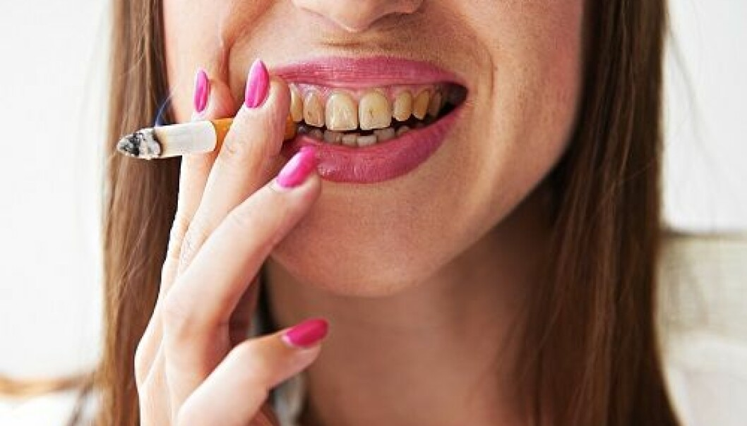 "Smoking may not ruin your teeth entirely, but the weakened oral immune system caused by smoking increases the risk of infections and paradentosis. (Photo: <a href="" http://www.shutterstock.com/"" target=""_blank"">Shutterstock</a>)"