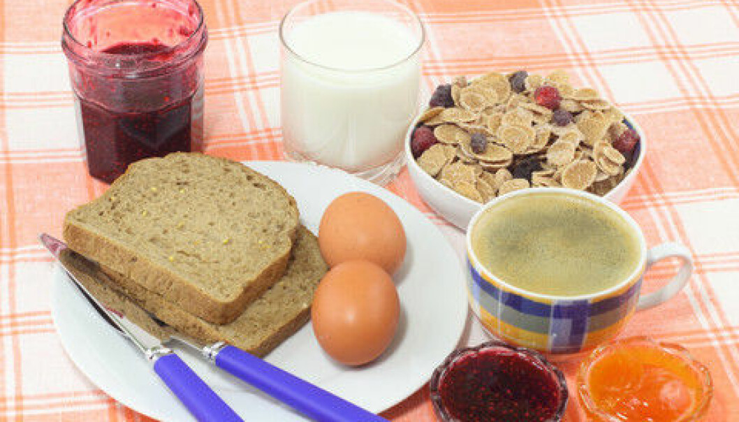 No need to eat breakfast if you have type 2 diabetes, according to Swedish research. (Photo: Colourbox)