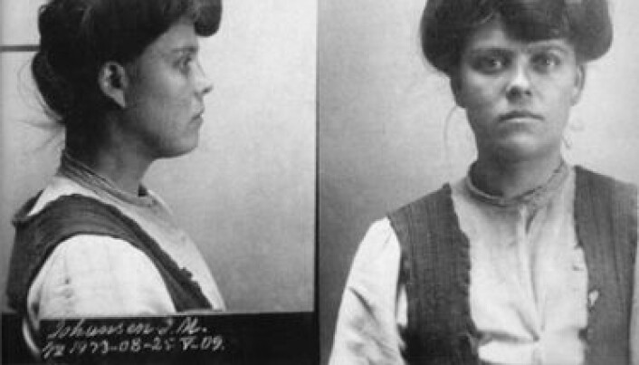 Female criminals more interesting than women's suffrage