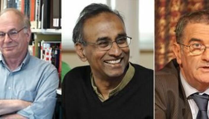 Nobel laureates at ESOF2014