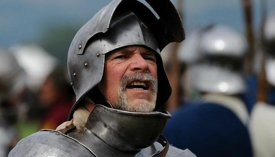 Medieval warriors were in grave danger of developing post-traumatic stress disorder following their acts of war. The knights could counteract the severe mental suffering by ensuring they always fought for a noble cause when cutting their enemies to shreds. (Photo: Saffron Blaze)
