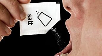 Only few eat too much salt
