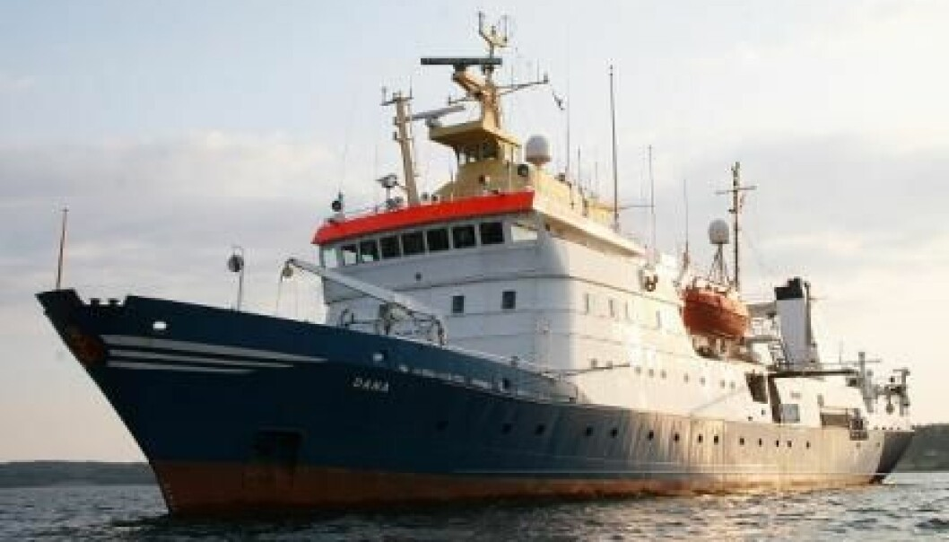 This summer, the public is invited on board Denmark's largest research vessel, Dana. (Photo: Line Reeh/DTU)