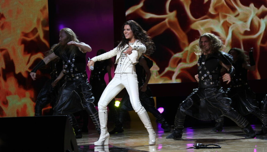 """The Eurovision Song Contest was created in a post-war Europe with the intention of facilitating reconciliation. Today, it provides a way for countries to make fun of each other. (Photo: <a href=""""http://www.shutterstock.com/gallery-517963p1.html?cr=00&pl=edit-00"""">cinemafestival</a>/<a href=""""http://www.shutterstock.com/?cr=00&pl=edit-00"""">Shutterstock</a>)"""