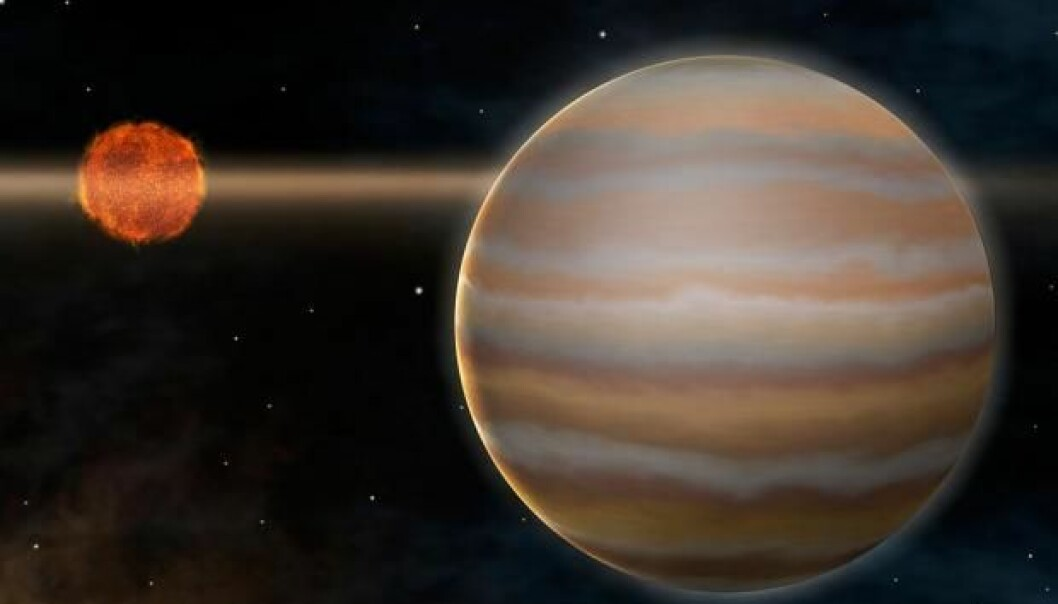 An illustration of the first Earth-like exoplanet, discovered in 2005. (Photo: eso.org)