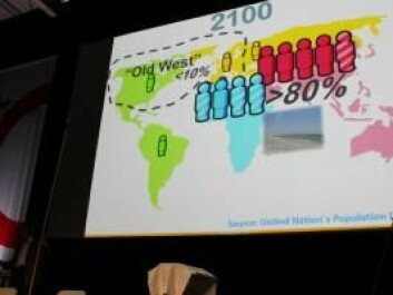 "To make the results readily understandable, Hans Rosling communicates in very round numbers, which naturally means that he can easily be accused of oversimplifying. However, all of his data are made available on <a href=""www.Gapminder.org"">the website </a>, and after giving his keynote speech he was ready to defend his research results."