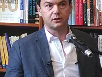 Thomas Pikkety's opinions have been the subject of heated debates in the media since his new work was published. (Photo: Wikimedia)