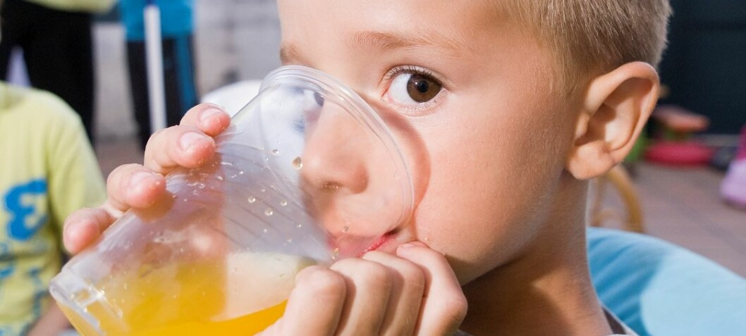 Children feast on sugar